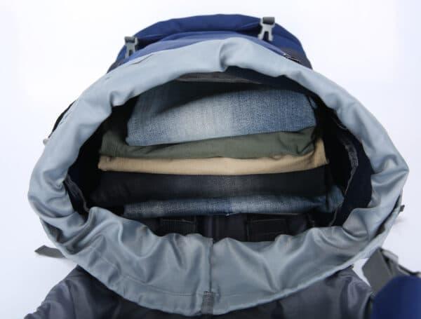 backpack bovenkant