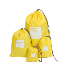 backpack zakken geel