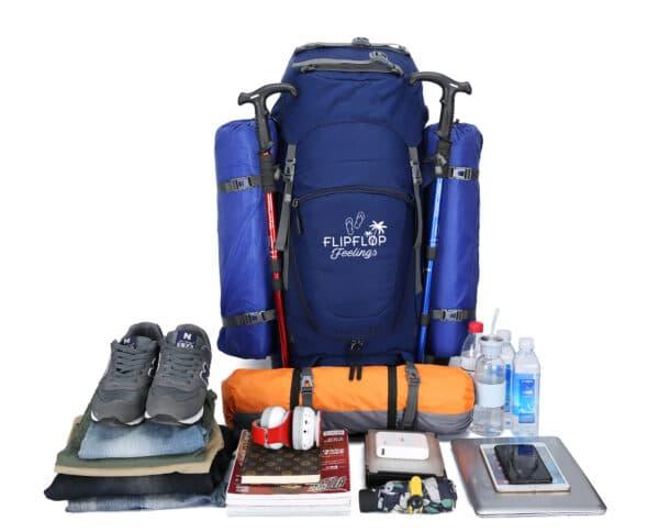 backpack te openen als koffer