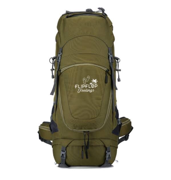 Groene backpack