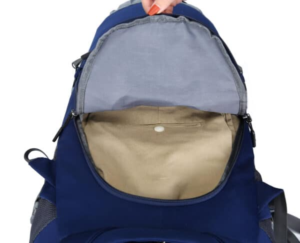 Backpack openen als koffer